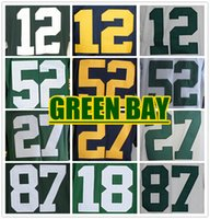 bay logo - LIMITED TYPE Complete Logo name Stitched GREEN BAY Aaron Rodgers Eddie Lacy Clay Matthews NELSON COBB Football Jersey SPORT