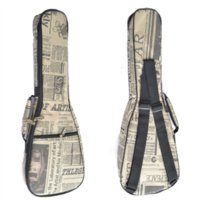 Wholesale 23 quot Concert Ukulele Guitar Bag Acoustic Guitar Bag D Nylon Oxford Guitar Soft Thick Cotton Gig Bag Waterproof Guitar Case