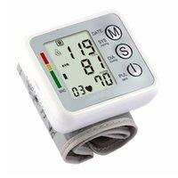 auto sphygmomanometer - Health Care Electronic Blood Pressure Monitor Auto Wrist Digital Sphygmomanometer monitor de presion arterial