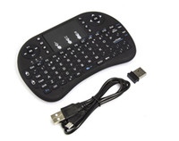 Wholesale Vensmile Fly Air Mouse G Wireless gaming Keyboard Rii mini i8 touchpad multi media control For Smart TV Box Laptop Mini PC