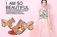 women shoes summer sandals - 2016 summer Europe and foreign trade peas shoes comfortable massage sandals flat shoes rhinestone sandals