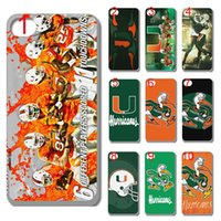 apple miami - new miami hurricanes case plastic hard cover for iphone s s c s plus ipod touch
