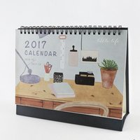 Wholesale quot Little Life quot Oct to Dec Desk Calendar Big Size Beautiful Scheduler Agenda Monthly Planner Checklist Memo Notebook Gift