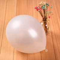 white adult birthday balloons - White birthday party supplies inch g round bead light pieces balloon activities decoration balloon adult party celebrations ball
