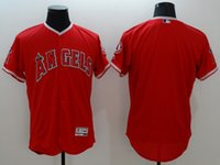 angels baseball store - 2016 Flexbase Los Angeles Angels Mens Blank Baseball Jerseys White Grey Red Cheap Outlets Store