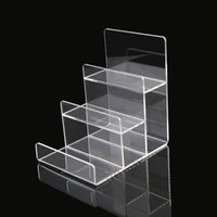 Wholesale 4pcs Tier Muti Funciton Acrylic Display Stand Wallet Stand Holder Handbag Display Stand Purse Stand