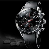 auto glass markers - HOT Price Luxury Watch Men Har dlex Glass Luminescent markers Rubber strap CHRO Watches Dive Watche T02