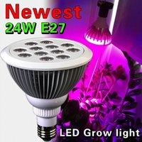 Wholesale w LED Grow Light TaoTronics Plant Grow Lights E27 Growing Bulbs Flower ps dhl fedex