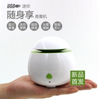 Wholesale Free Epacket Newest Portable Mini USB Humidifier Air Purifier Aroma Diffuser for Home Room Car