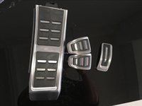 audi footrest - Manually gas accelerator pedal brake and footrest pedal for Audi A4 S4 B8 A5 S5 RS5 Q5 SQ5 A6 S6 RS6 A7 S7 C7 RS7 car styling