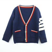 Wholesale new sweater autumn children s clothing baby knit cardigan children s jacket jacket design fashion quality assurance