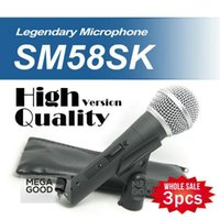 best karaoke microphone - best microfono Wholesales High Quality SM S SM58S SM58SK Dynamic Handheld Karaoke Wired Microphone with on off Switc free mikrafon