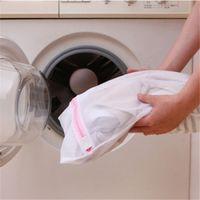 Wholesale 600pcs CM Zipped Laundry Washing Bag Laundry Bags Net Mesh Socks Bra Clothes