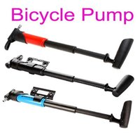 Wholesale Top sale Mini Light Portable Bike Bicycle Tire Inflator Air Pump Skidproof Blue Red black