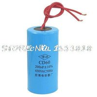 ac capacitor wiring - CD60 uF AC V Two Red Wire Terminal Motor Run Capacitor