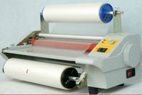 Wholesale 220V Hz mm Eight Bearings Hot and Cold Four Rollers Roll Laminating Machine