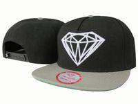 Wholesale 2016 summer style Diamond panel cap hat classic strapback bone diamond five panel snapback gorro hip hop hats for men women
