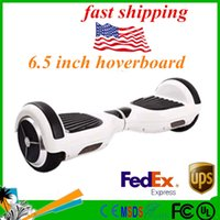 Wholesale Stock in US Smart hoverboard Smart Balance hoverboard Unicycle two wheel Electric Standing Scooter with Bumper strip