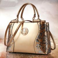 Wholesale 2016 new Fashion women handbags patent leather bags women bag large bag European and American Shoulder Messenger bags
