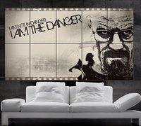 Precio de Break fotografías-Breaking Bad cartel de la pared del arte del cuadro 1Jesse Pinkman Gus Walter White Heisenberg Skyler Saul 10parts NO2-246 libre del envío