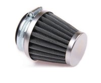 air powered scooter - New X Air Filter MM Fit Motorcycle Chrome Power Scooter Cone race Replace