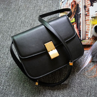 Wholesale bolsa pequena de ombro women handbag genuine leather famous brands vintage buckle small shoulder bag sac a main femmes