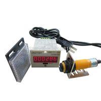 automatic conveyor belt - Digital LED Counter PhotoElectric Switch Sensor Reflector Automatic Conveyor Belting VAC