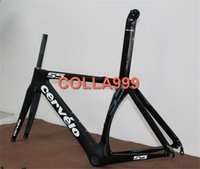 bicycle week - Promotion Only Two weeks T800 Black S5 carbon frame matte glossy road bicycle frame fork seatpost headsets BB right cm