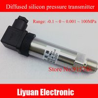 analog pressure transmitter - Diffused silicon pressure transmitter mA MPa water pressure sensor M20 Transmitter