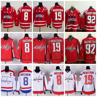 Wholesale Washington Capitals Winter Classic Alex Ovechkin Jersey Nicklas Backstrom ICE Hockey Evgeny Kuznetsov Red