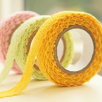 Wholesale Three year two class Korean knitting lace lace hand account tape DIY manual account masking tape cloth