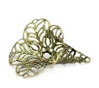 antique bugle - Copper Beads Caps Bugle Antique Bronze Fits mm mm Beads Flower Hollow Pattern mm quot x mm quot Piece new