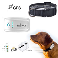 Wholesale new mini waterproof TK909 GPS Tracker for Pet animal Can Insert Collar for Pets Cat Cow Dog Monitor Tracking