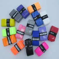 Wholesale Tennis Racket Overgrips Anti skid Sweat Absorbed Wraps Badminton Racquet Over Grips Fishing Tenis Skidproof Sweat Band H Quality