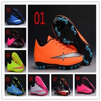 Wholesale With Box Mercurial Victory V TF AG Cheap Genuine Men And Women Football Soccer Shoes High Quality Women Cleat Boots