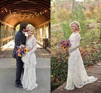 autumn kelly wedding - 2016 New Stunning Kelly Clarkson Country Wedding Dresses Spring Long Sleeves Beaded Lace Wedding Dresses Plus Size Bridal Gowns Custom Made