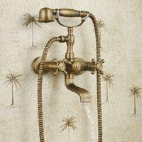 bathtub shower designs - Euro Design Antique Bronze Bathtub Rotatable Faucet Wall Mount Shower Faucet