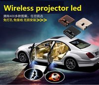 Wholesale 2016 Hot Wireless Car Door Lights Logo Projector Welcome Led Lam Hundreds Of Designs To Choose