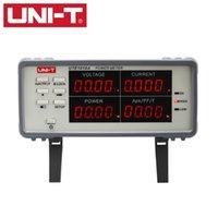 bench meter - Uni t Bench True RMS Voltage Current Digital Power Factor amp Power Meter Analyzer Range W UTE1010A