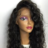 Wholesale 130 Density Glueless Full Lace Human Hair Curly Wigs For Black Women Glueless Lace Front Human Hair Wigs Kinky Curly Wigs