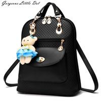 Wholesale Hot Sale Quality Assurance Fashion Student Backpack Elegant Bag Girls Bangalor Convenient Handbag PU Leather