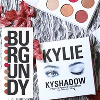 glitter kit - Kylie Jenner Newest Kyshadow The Burgundy Palette Eyeshadow Of Your Dreams Makeup Eye Shadow ABHPIgment Glow Kit