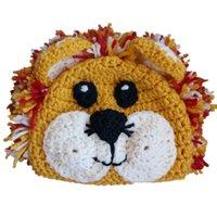 baby lion photos - Novelty Adorable Little Simba Beanie Handmade Knit Crochet Baby Boy Girl Lion Animal Hat Kids Halloween Costume Infant Toddler Photo Prop