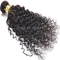 bella dream hair brazilian curly - Raw Unprocessed Brazilian Hair Human Hair Malaysian Virgin Hair Extension Jerry Curl Bella Dream Perfect Hair Natural Color Can Be Dyed