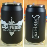 Wholesale LOL League Stainless Steel Mug Cup Game cartoon cans of cola Thermos