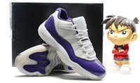 pvc boots - XI Low White Citrus Basketball Shoes S Low Blue White Sports Boots s Low Purple Basketball Trainer Men Athletics Cheap Retro Sneakers