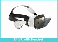 Wholesale BOBOVR Z4 D VR Glasses Virtual Reality Headset Cardboard Box for iPhone Samsung HTC inch Smartphone