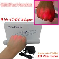 Wholesale Gift Set LED Vein Locator Vein Viewing Portable Vein Finder VEZ200 with Gift Box Carton Package