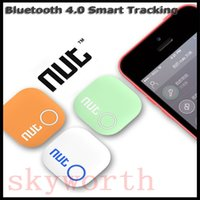Wholesale new mini nut smart finder bluetooth key gps bluetooth nut2 Smart Tracker Anti lost Alarm Two way Intelligent Patch Finder