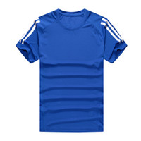 Wholesale New men s T shirts Fashion casual Sports T shirt Original famous brand T shirts Basketball football clothes Sportswear Running T shirt NO